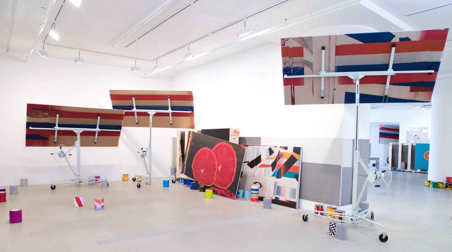 Installation view  Greene Naftali, New York, 2009