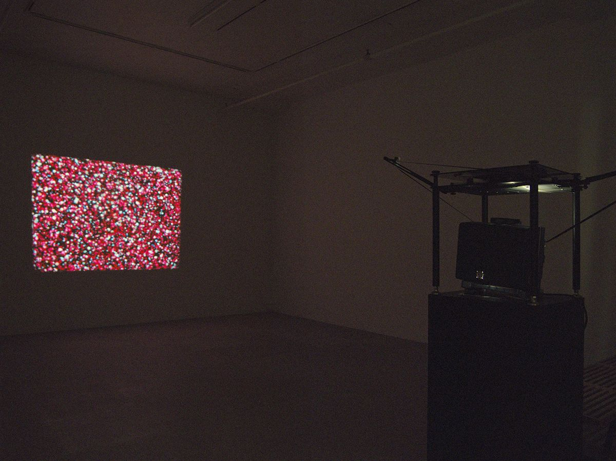 Paul Sharits Apparent Motion, 1975 16mm single screen projection, color. silent Duration: 28 min