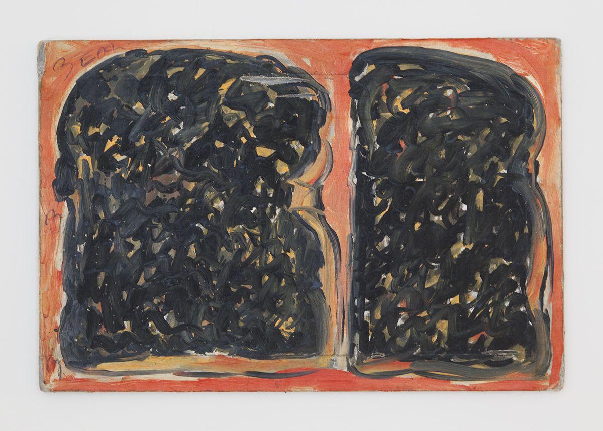 Gedi Sibony, Three Each, 2013, Painting, 24 1/4 x 36 1/4 inches