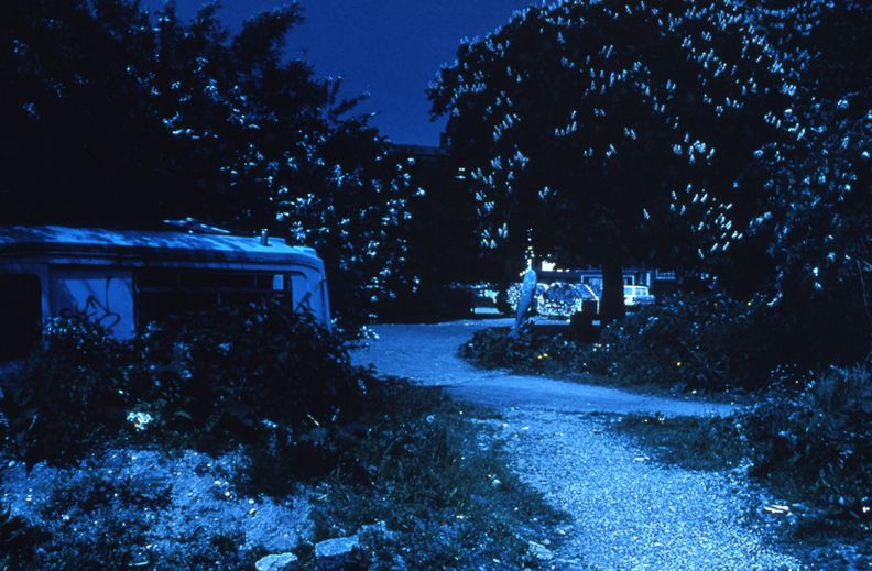 Day for Night, Christiania (The Prarie/The Drill Ground #1), 1996, c-print, 26 x 38 1/2 inches