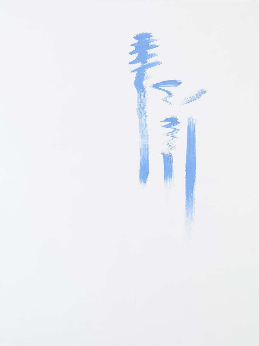 Michael Krebber MK.293, 2015 Acrylic on canvas 78 3/4 x 59 1/8 inches (200 x 150.2 cm)