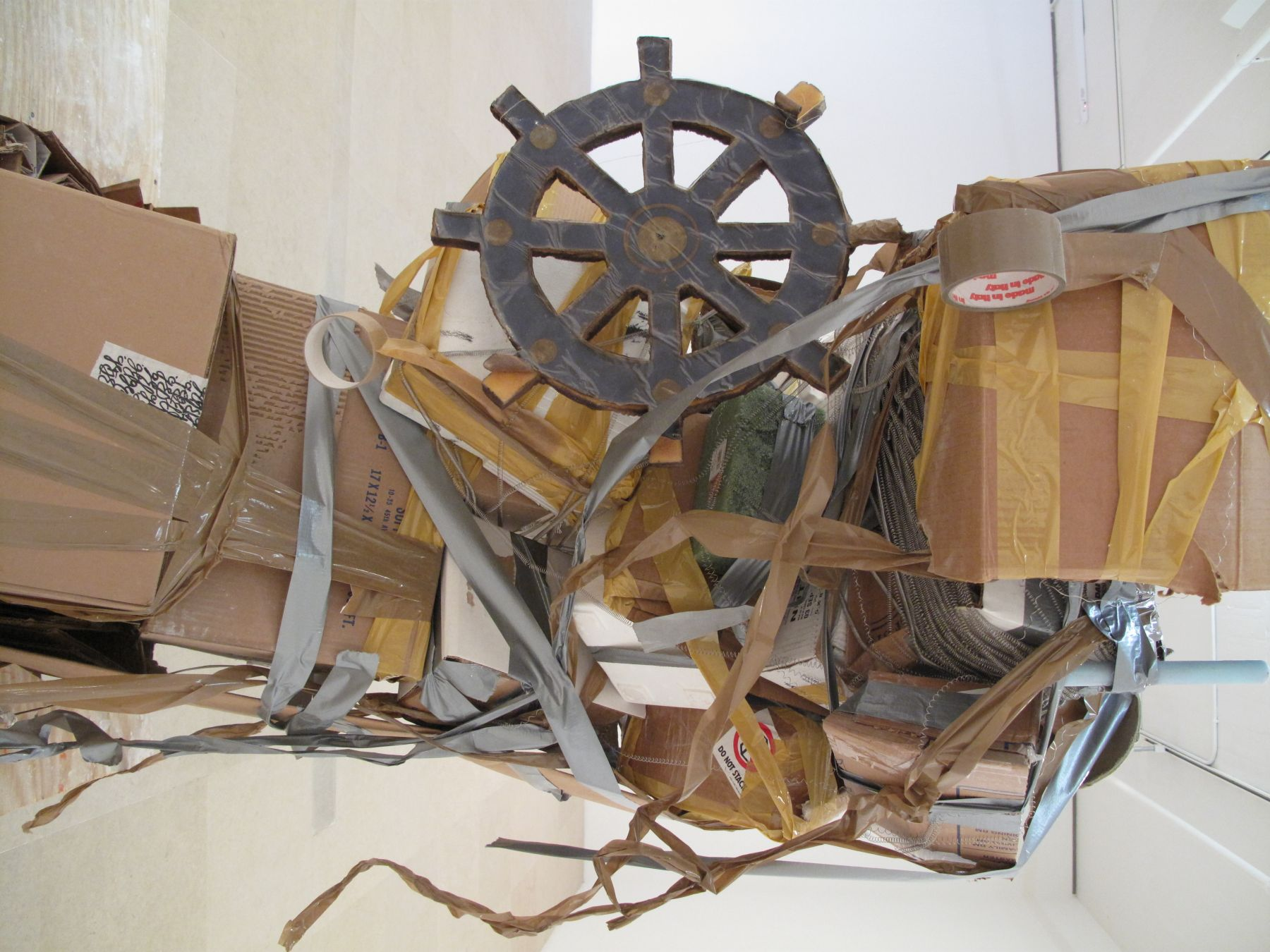 Untitled, 2010 (detail), mixed media, 87 x 75 x 57 inches