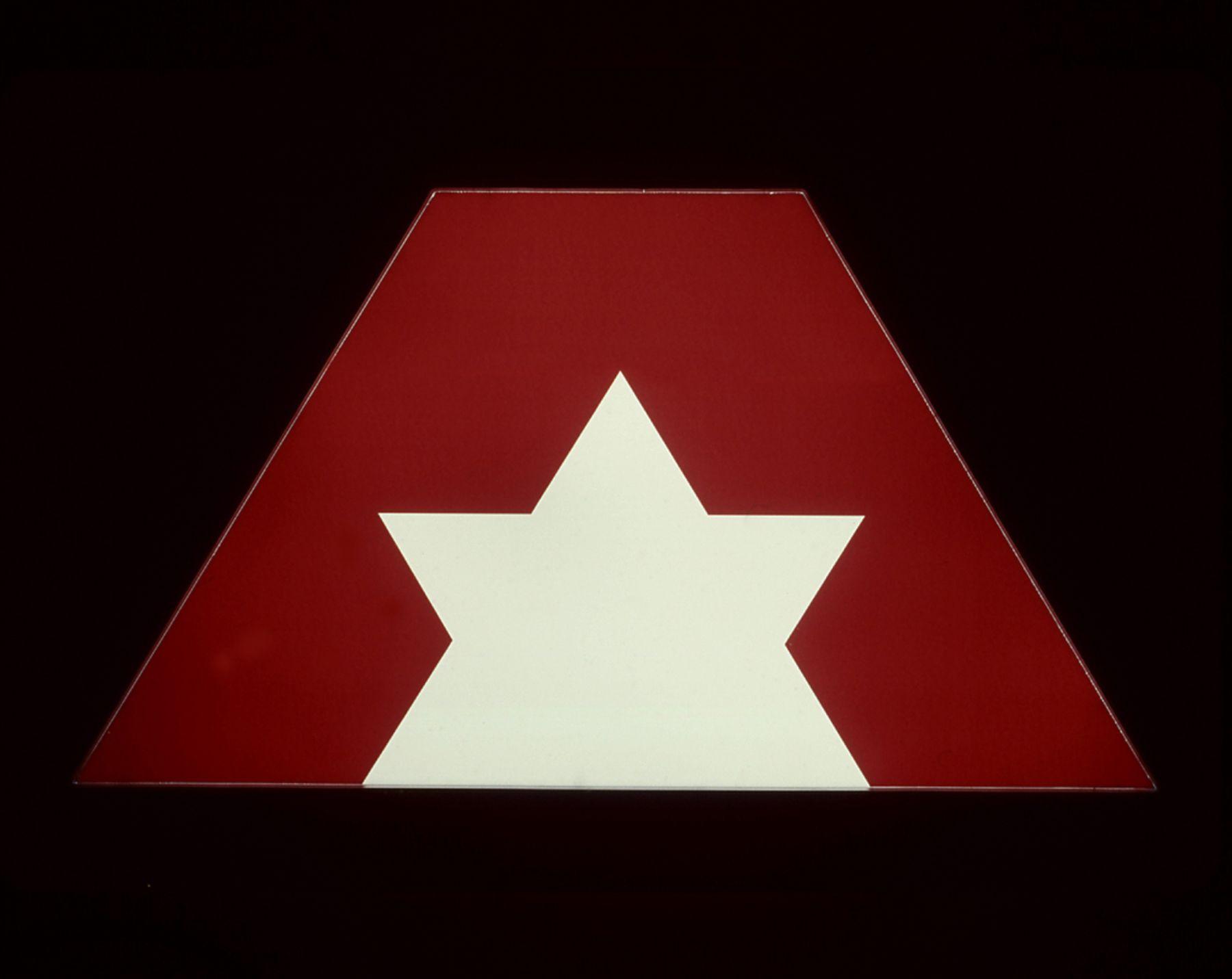 Untitled (Advantage Rent a Car), 2001, Light box, 26 x 48 x 6 inches