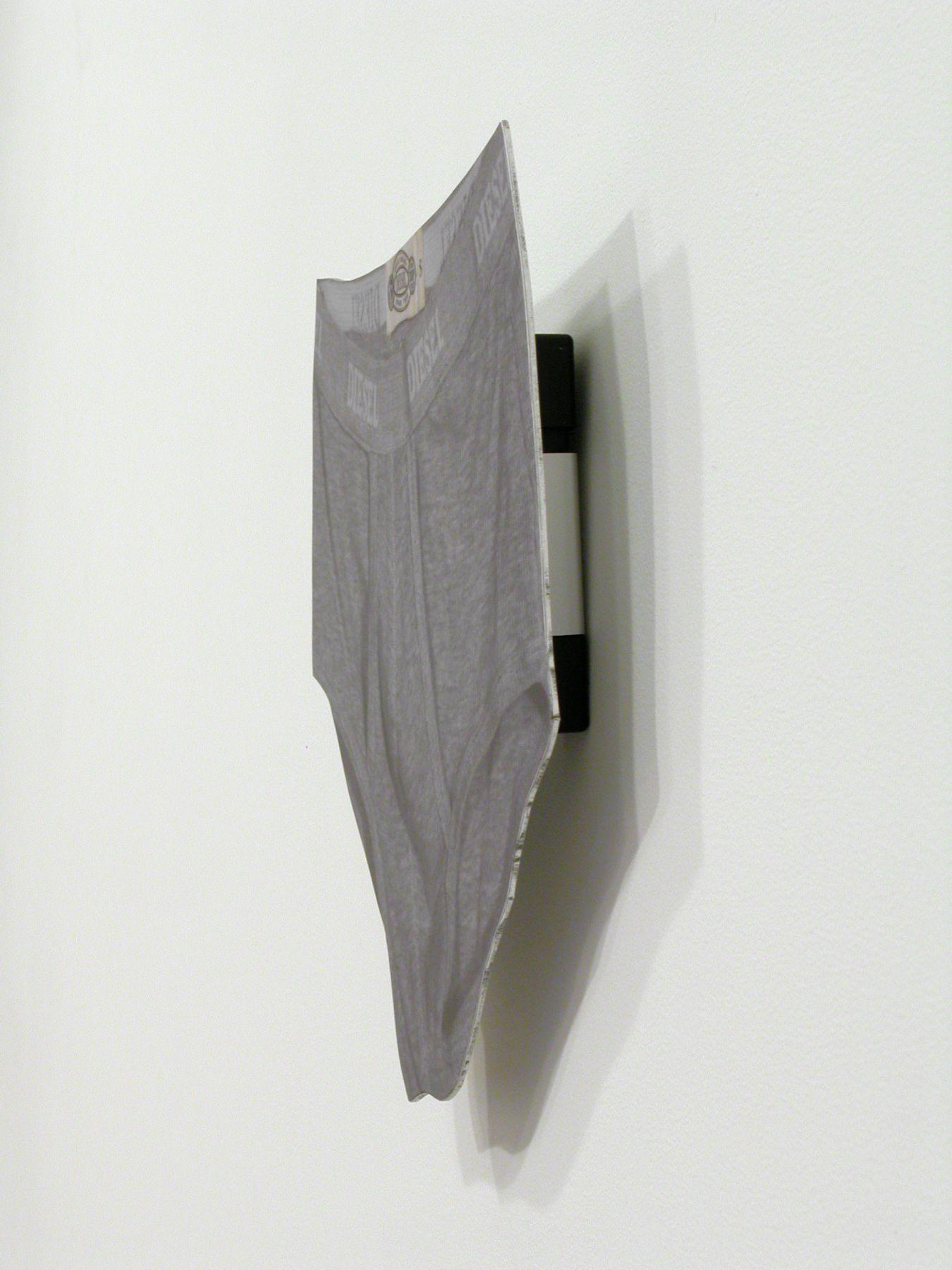 Jim Drain, Untitled (Diesel Underwear), 2007, C-print, Mounted on Aluminum, 10 1/2 x 11 1/2 x 1 inches