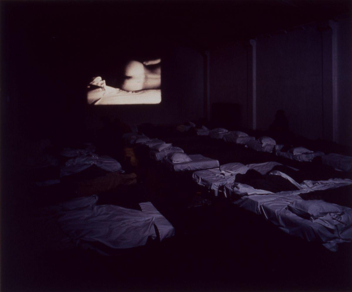 Liesbeth Bik & Jos van der Pol, Sleep with Me (II), 1997, c-print, mounted on foam core, 20 x 24 inches, edition of 3