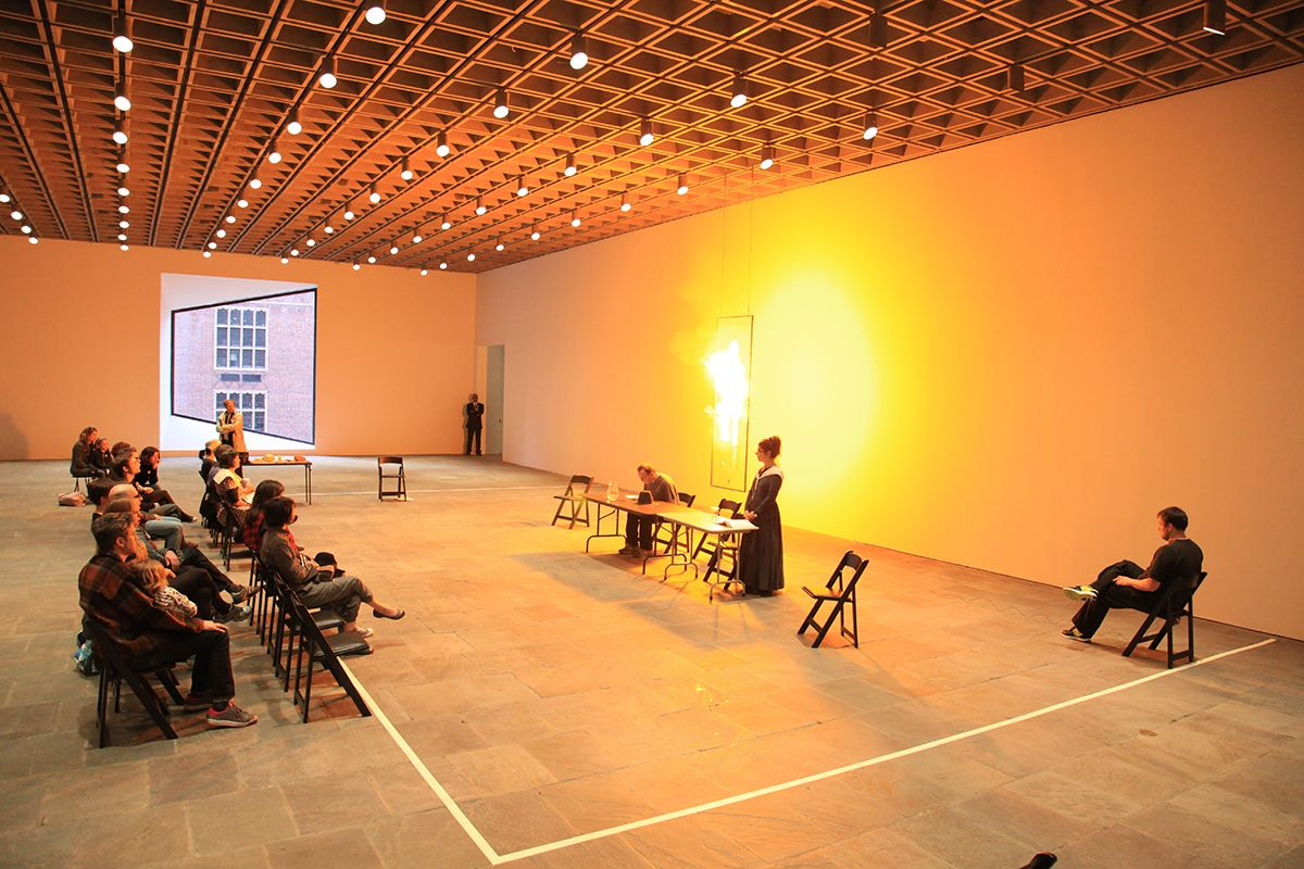 Richard Maxwell / New York City Players, Open Rehearsal, Whitney Museum of American Art, New York 2012