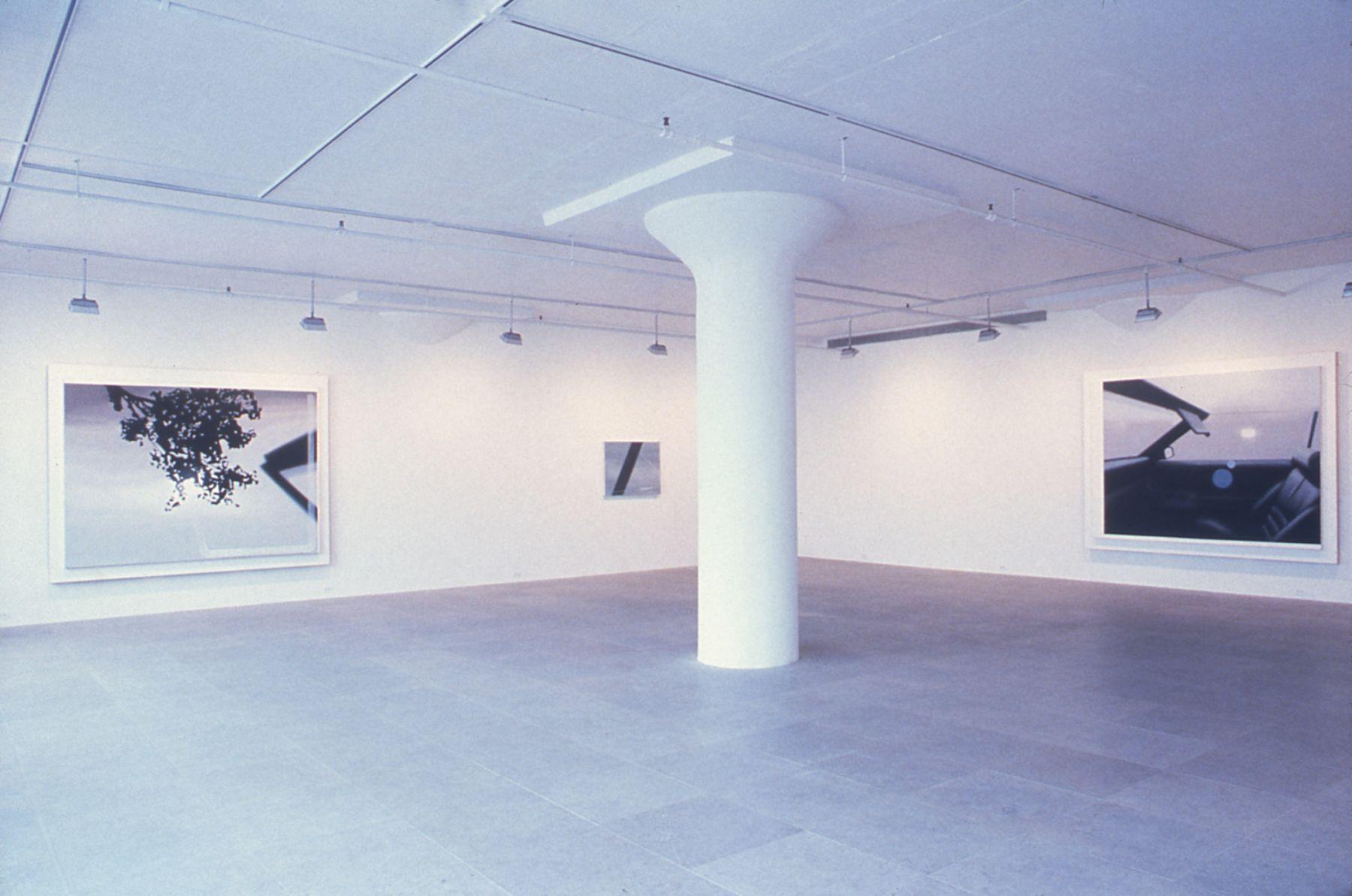 Installation view, Autumn Drive, Greene Naftali, New York, 1998