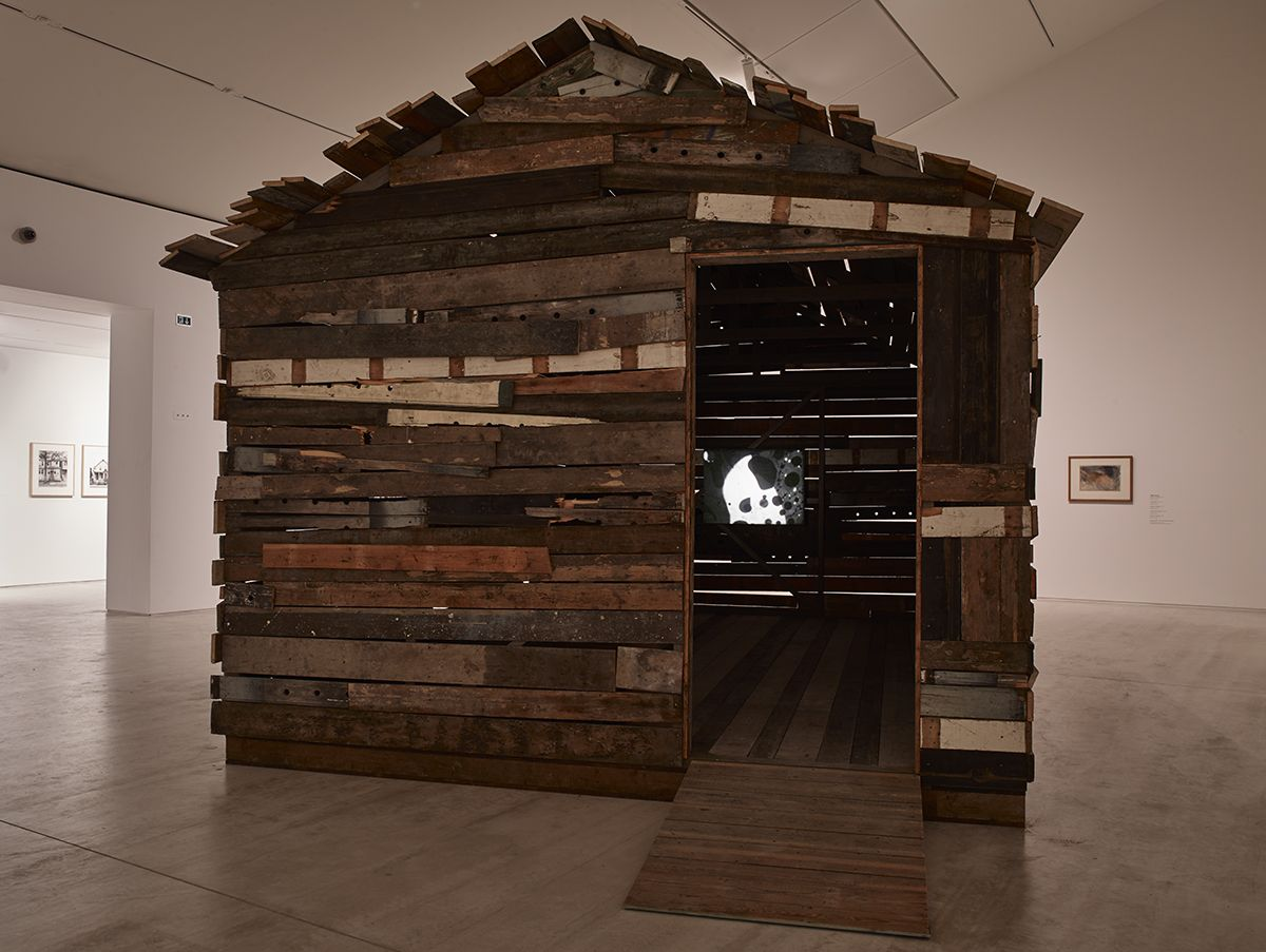 Installation view, The other side of the sky, curated by Filipa Oliveira, Turner Contemporary, Margate, UK