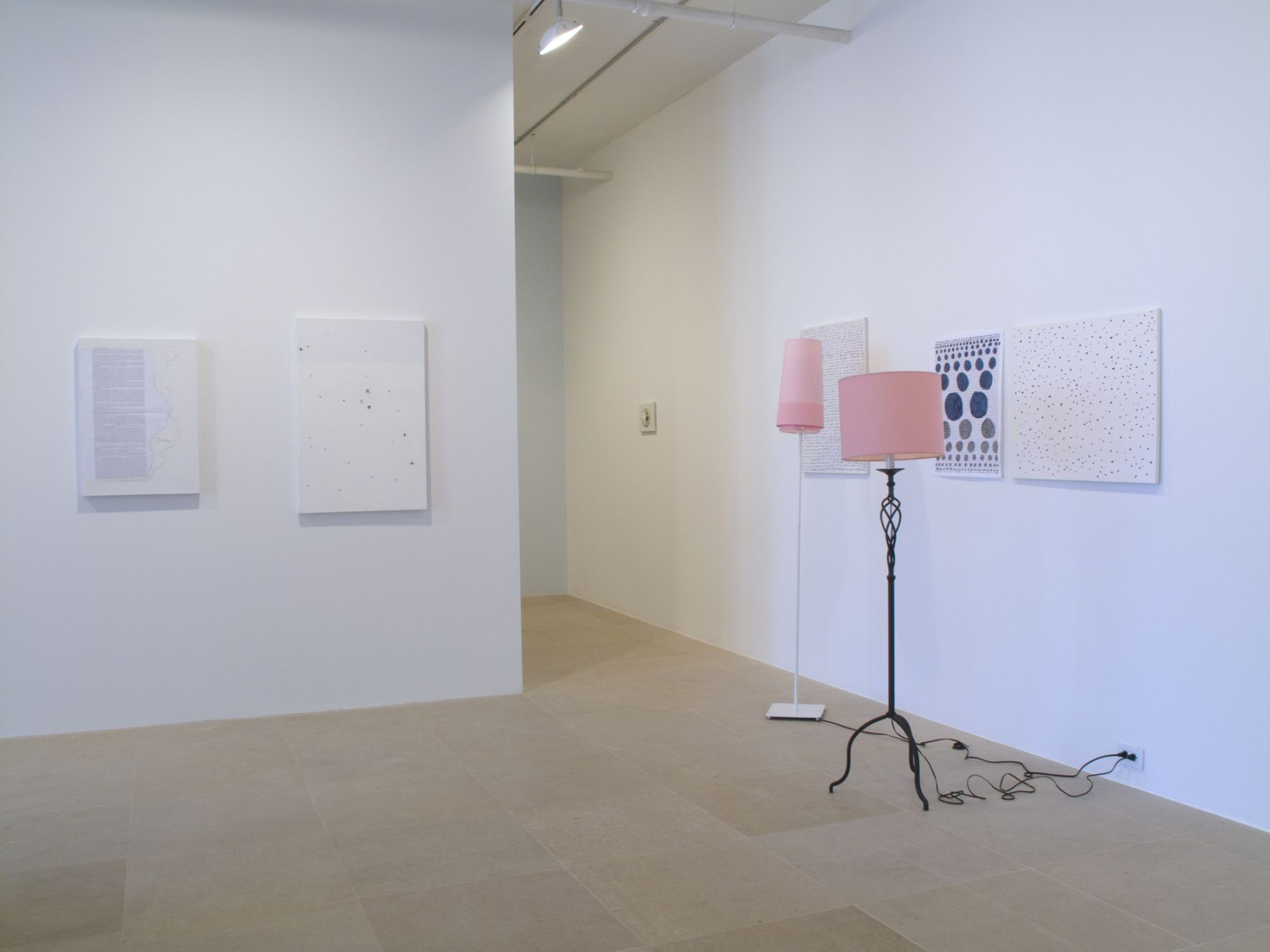 Installation view, The Pursuer, Greene Naftali, New York, 2011