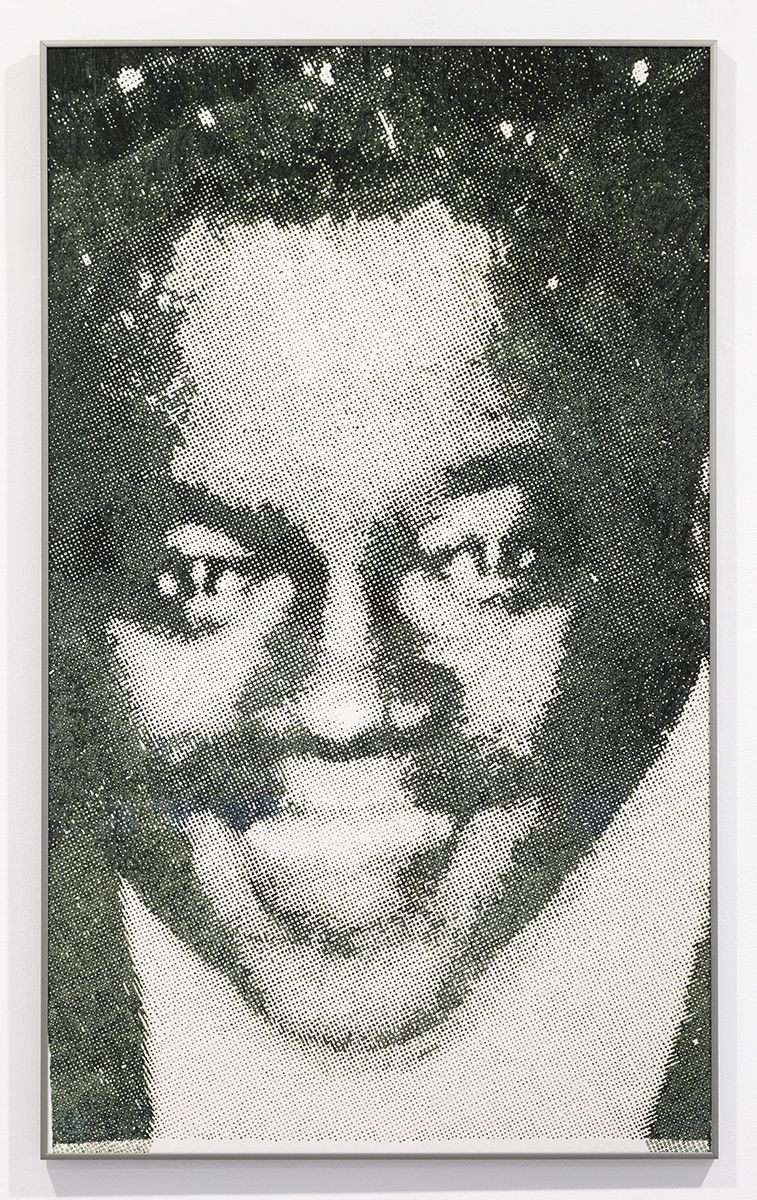 Daan van Golden  Fats Domino  Piezo print   43 1/2 x 26 3/8 inches (110.4 x 66.9 cm)