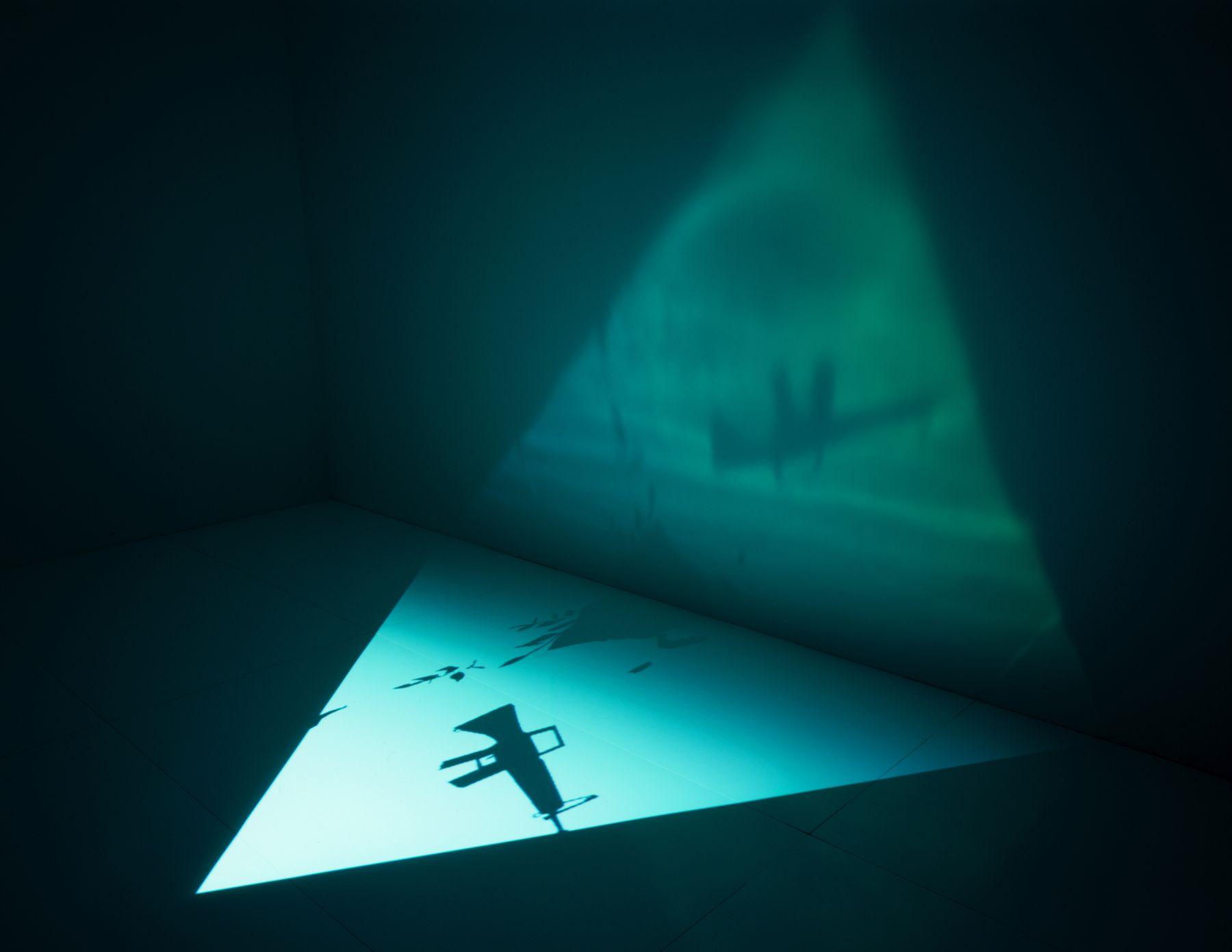 5th Light,2006, digital video projection