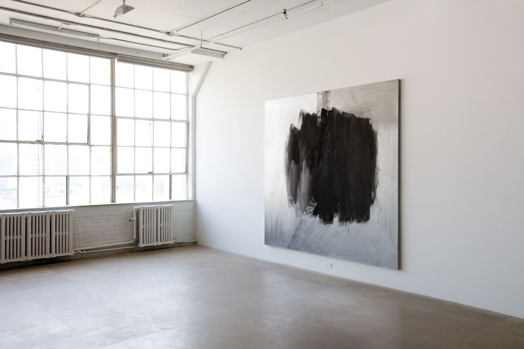 Jacqueline Humphries, Installation view, Greene Naftali, New York, 2009