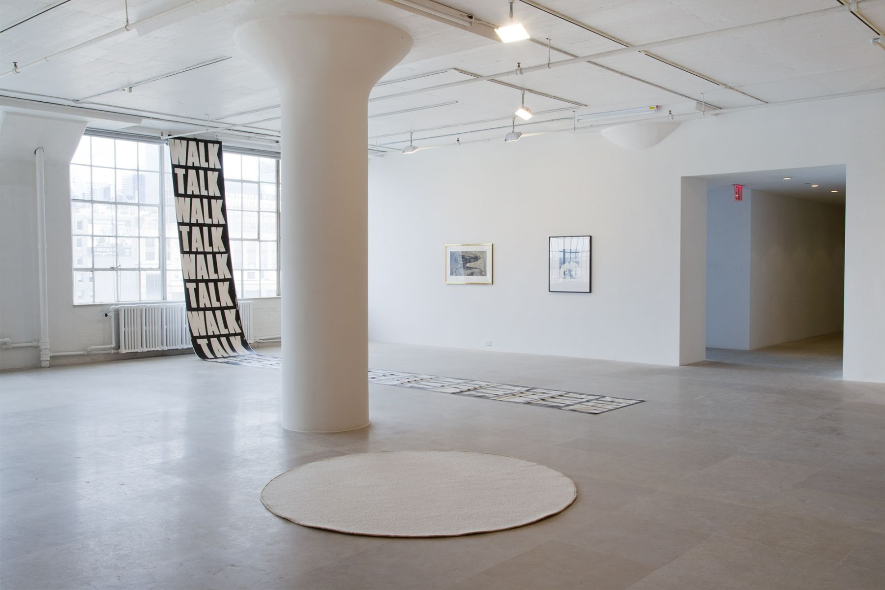 Installation view, Filmschönheit, Greene Naftali, New York, 2011