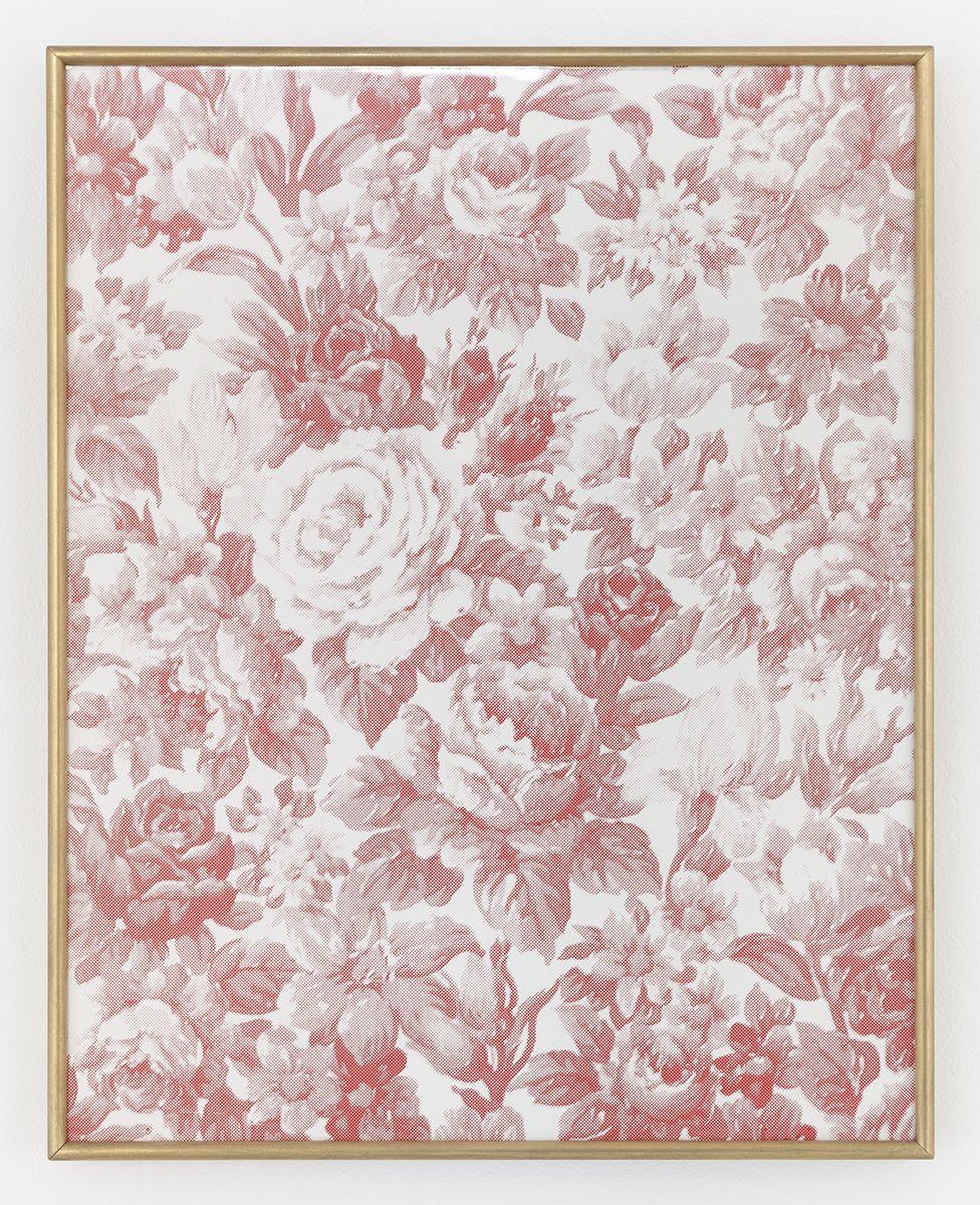 Daan van Golden, Composition with roses (red), 1970