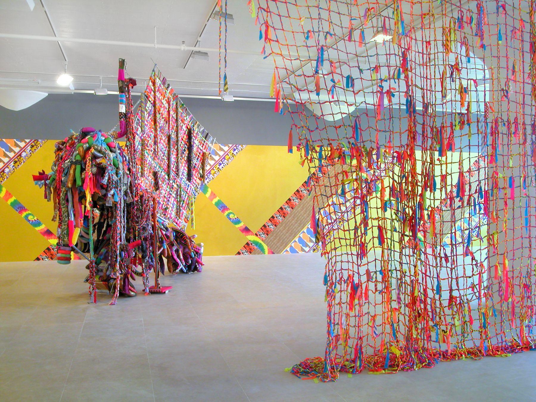 Jim Drain, Installation view, I Would Gnaw on My Hand, Greene Naftali, New York, 2007