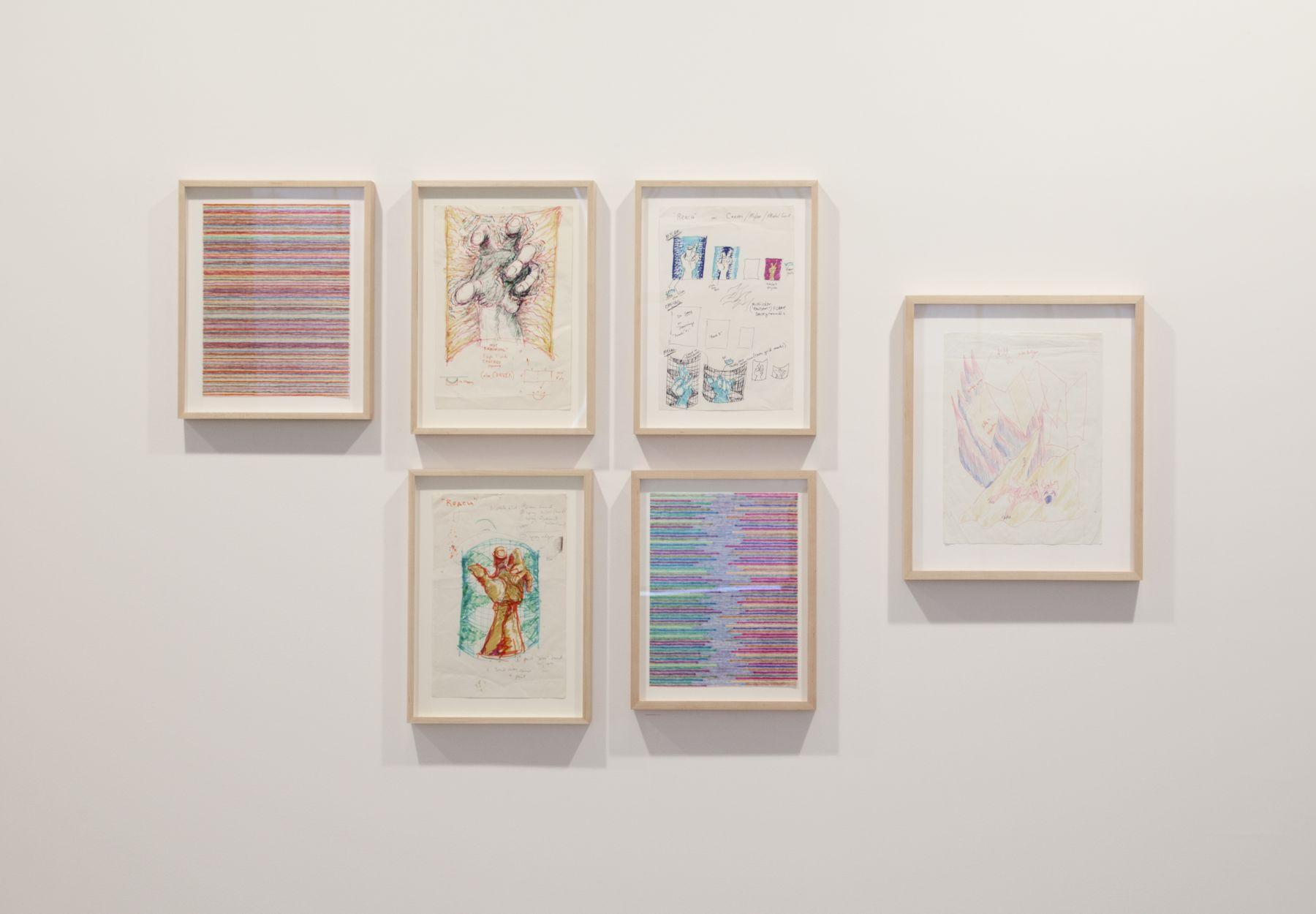 Paul Sharits, Installation view, Greene Naftali, New York, 2011