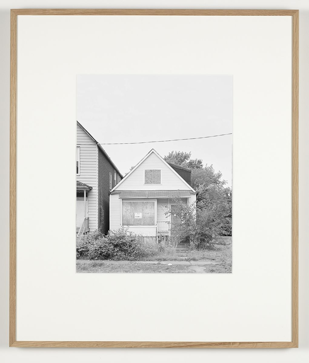 Some Boarded Up Houses   Chicago #9, 2009-2013  Silver gelatin print  27 x  22 5/8 inches (68.6 x 57.5 cm)
