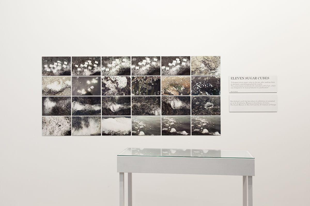 Dan Graham Eleven Sugar Cubes, 1970/2014 Digital C-print  37 x 84 x .125 inches (94 x 213.4 x .3 cm) 24 parts: each 9 1/4 x 14 inches (24.1 x 28.6 cm)