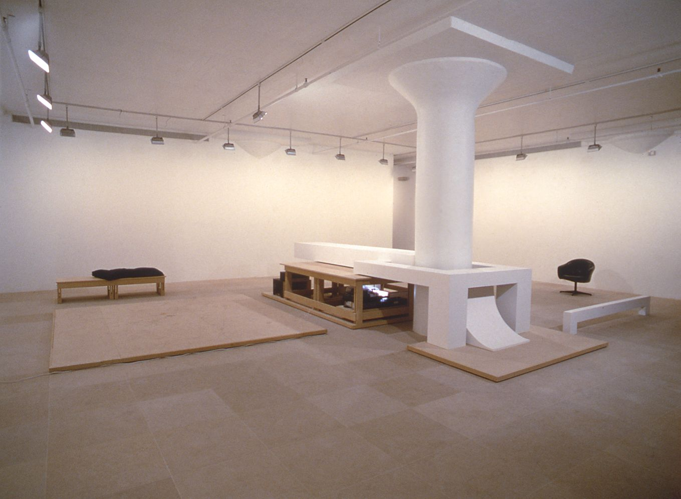Installation view, Greene Naftali, New York, 1996