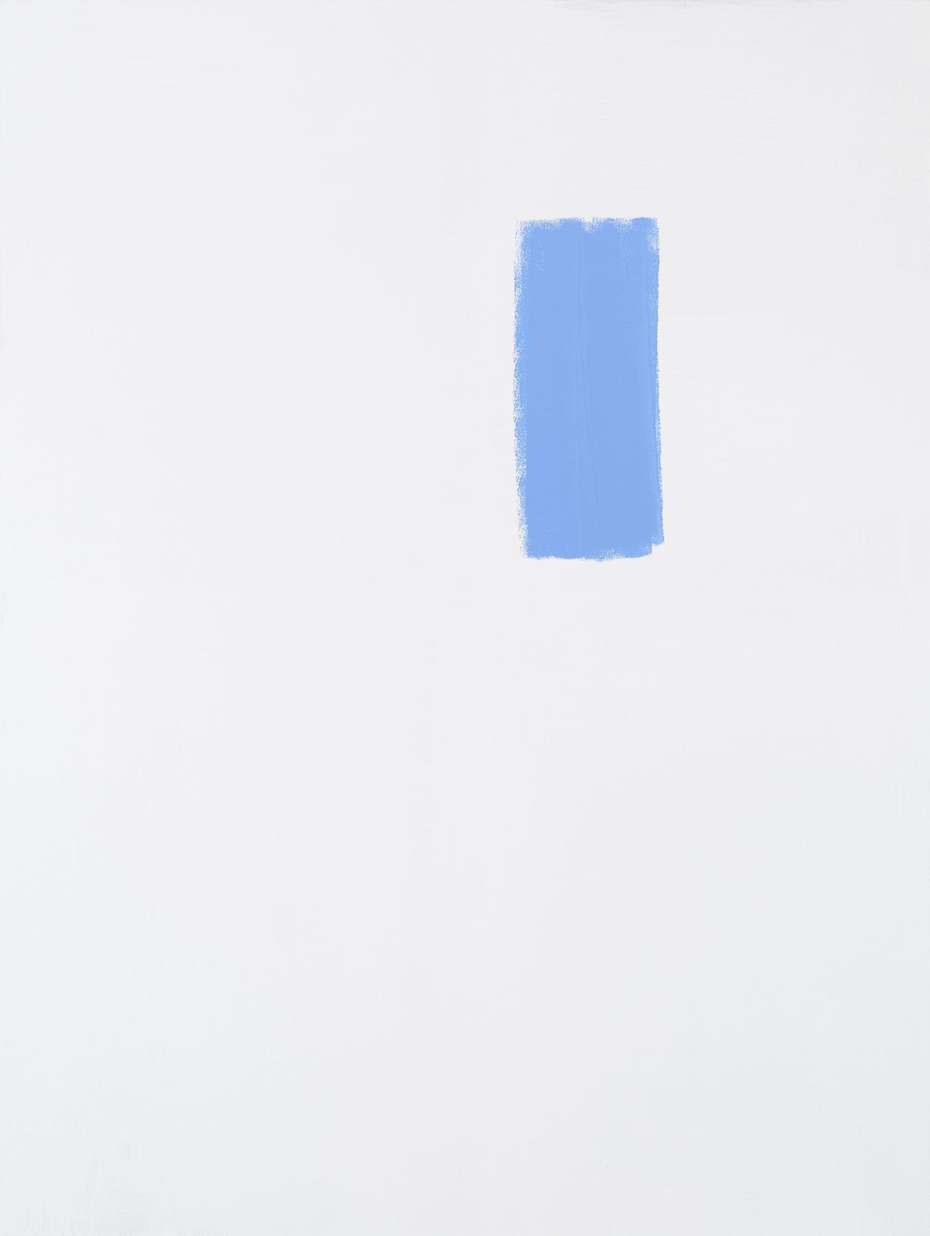 Michael Krebber MK.307, 2015 Acrylic on canvas 78 3/4 x 59 1/8 inches (200 x 150.2 cm)