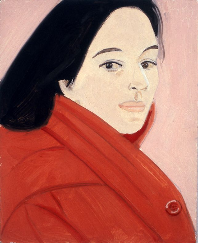 Pink Ada, 1989, oil on board, 10 x 8 inches