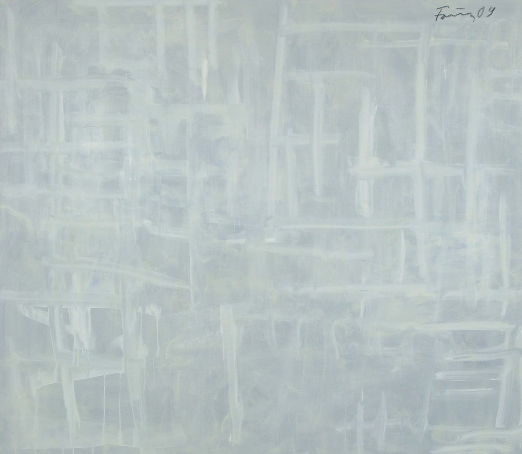 Untitled, 2009, Acrylicon canvas