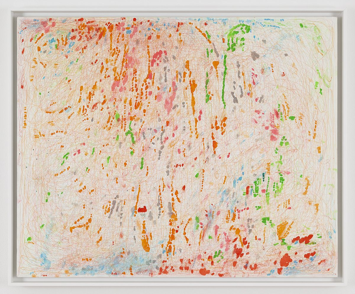 Eiichi Shibata  Soap, 2011  Ink on canvas  25 x 31 inches (63.5 x 78.7 cm)