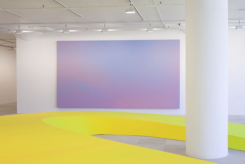 Installation view, Some Dreamers of the Golden Dream, Greene Naftali, New York, 2013