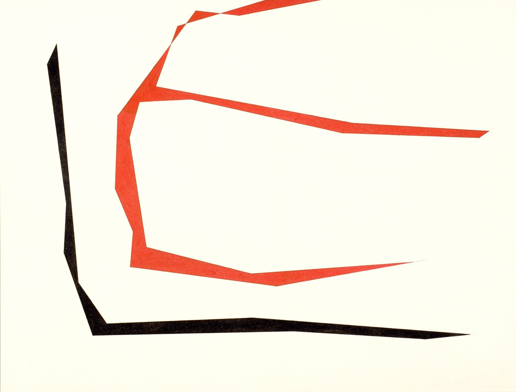 Untitled, c.1982, ink and pencil on paper, 12 1/4  x 16 inches