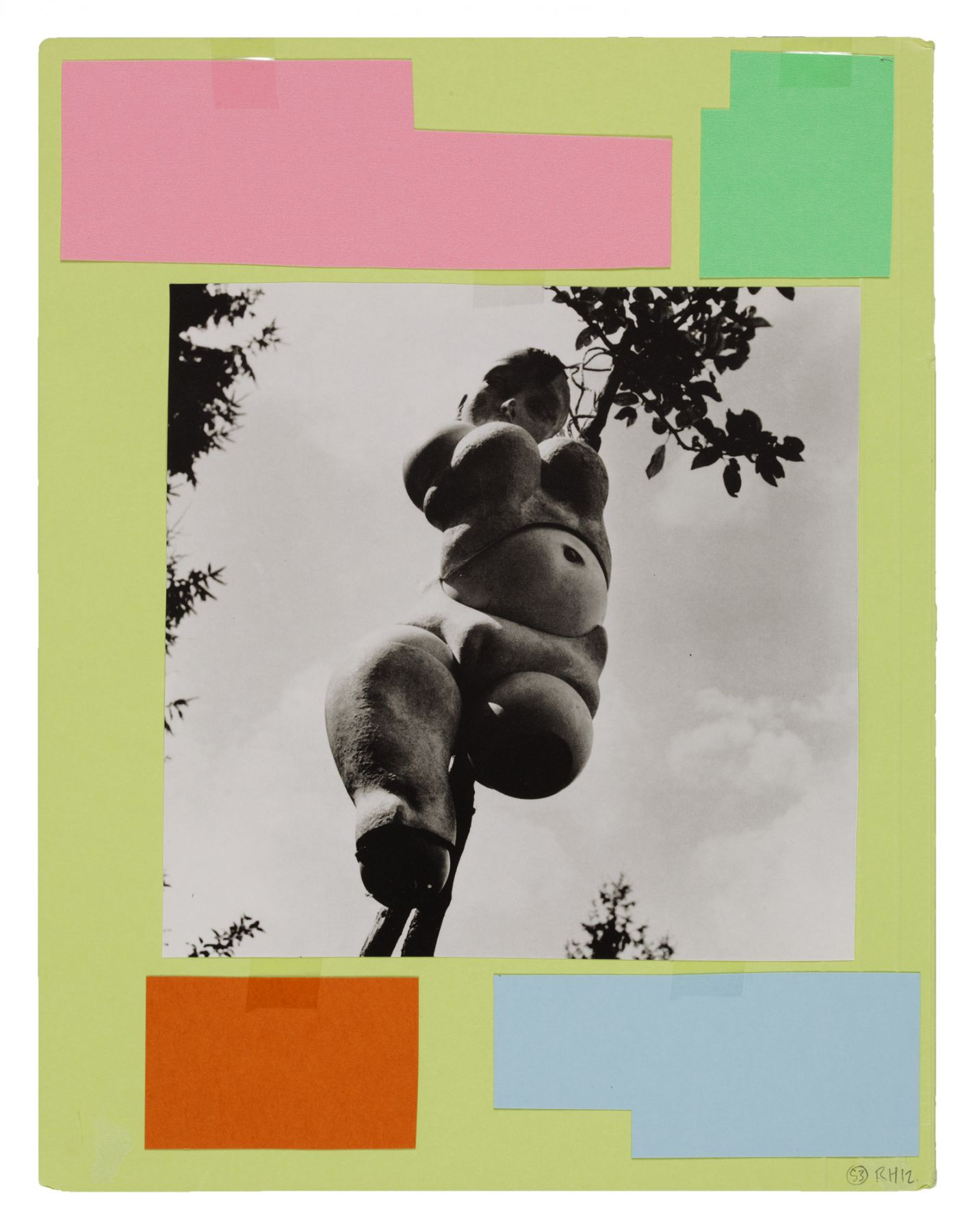 Ankoku 53 (Disbellmered), 2012, Collage