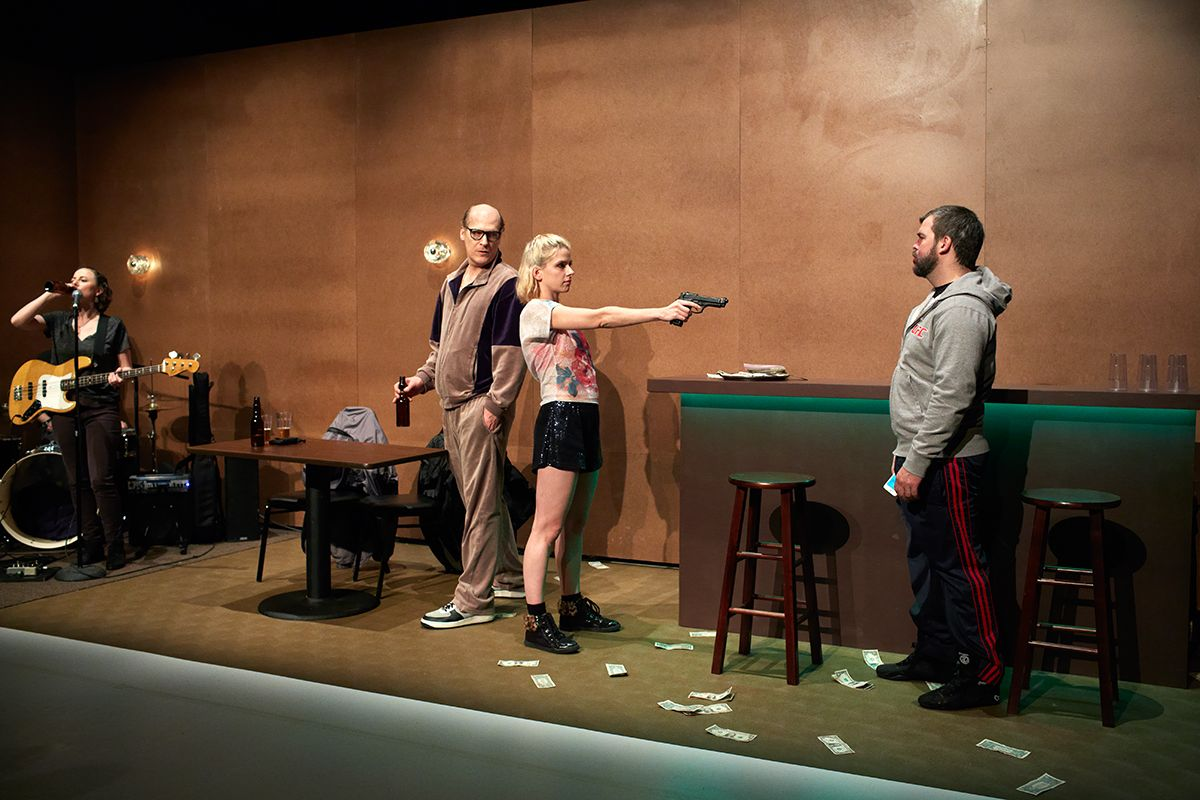Richard Maxwell / New York City Players, The Evening, The Kitchen, New York 2015