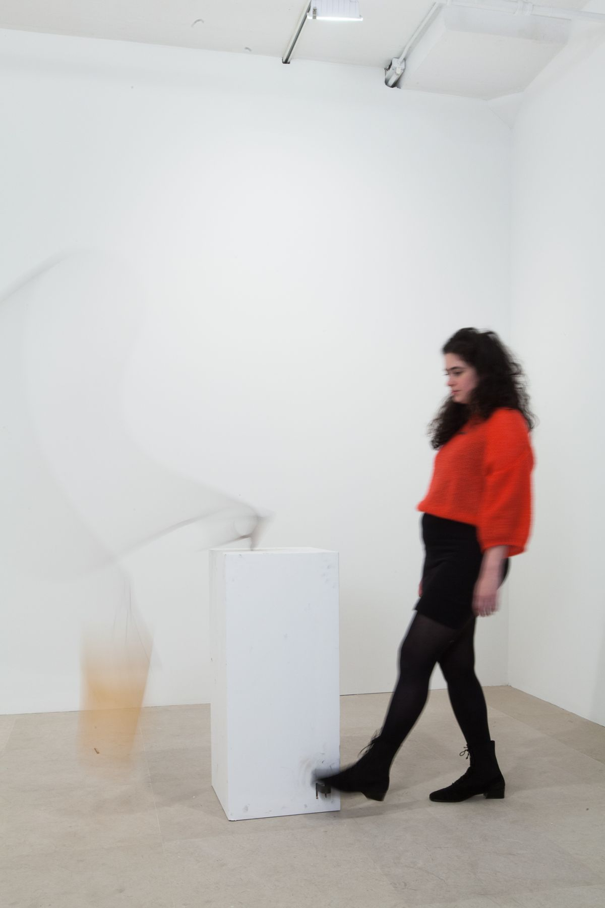 Gelitin, Beckett Bucket, 2012, Mixed media, 82 x 44 x 19 inches