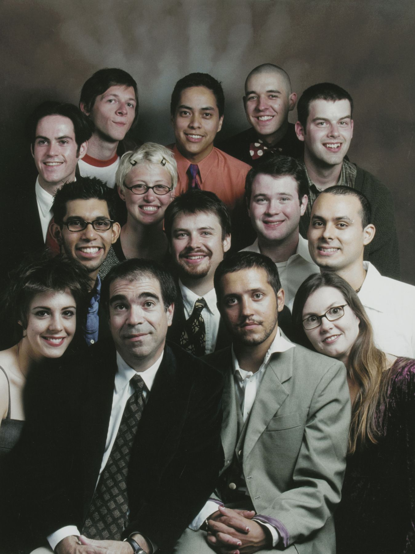 Michael Smith   Sears Class Portrait, Fall 1999, 1999  Photograph  10 x 13 inches (25.4 x 33 cm)