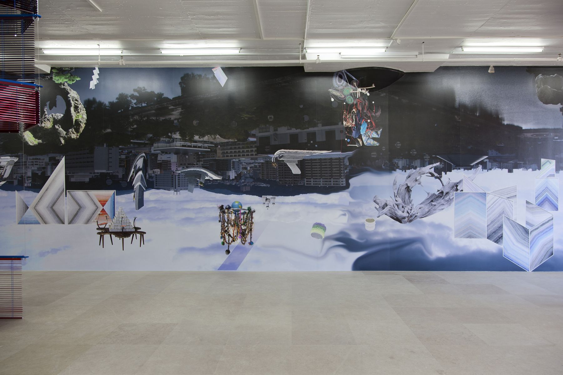 Installation view, Multi Faith Room, Greene Naftali, New York, 2012