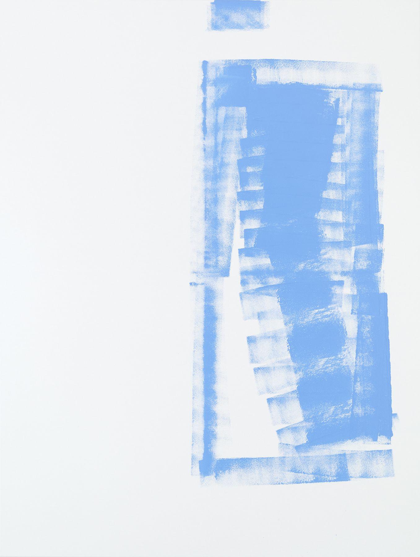 Michael Krebber MK.292, 2015 Acrylic on canvas 78 3/4 x 59 1/8 inches (200 x 150.2 cm)