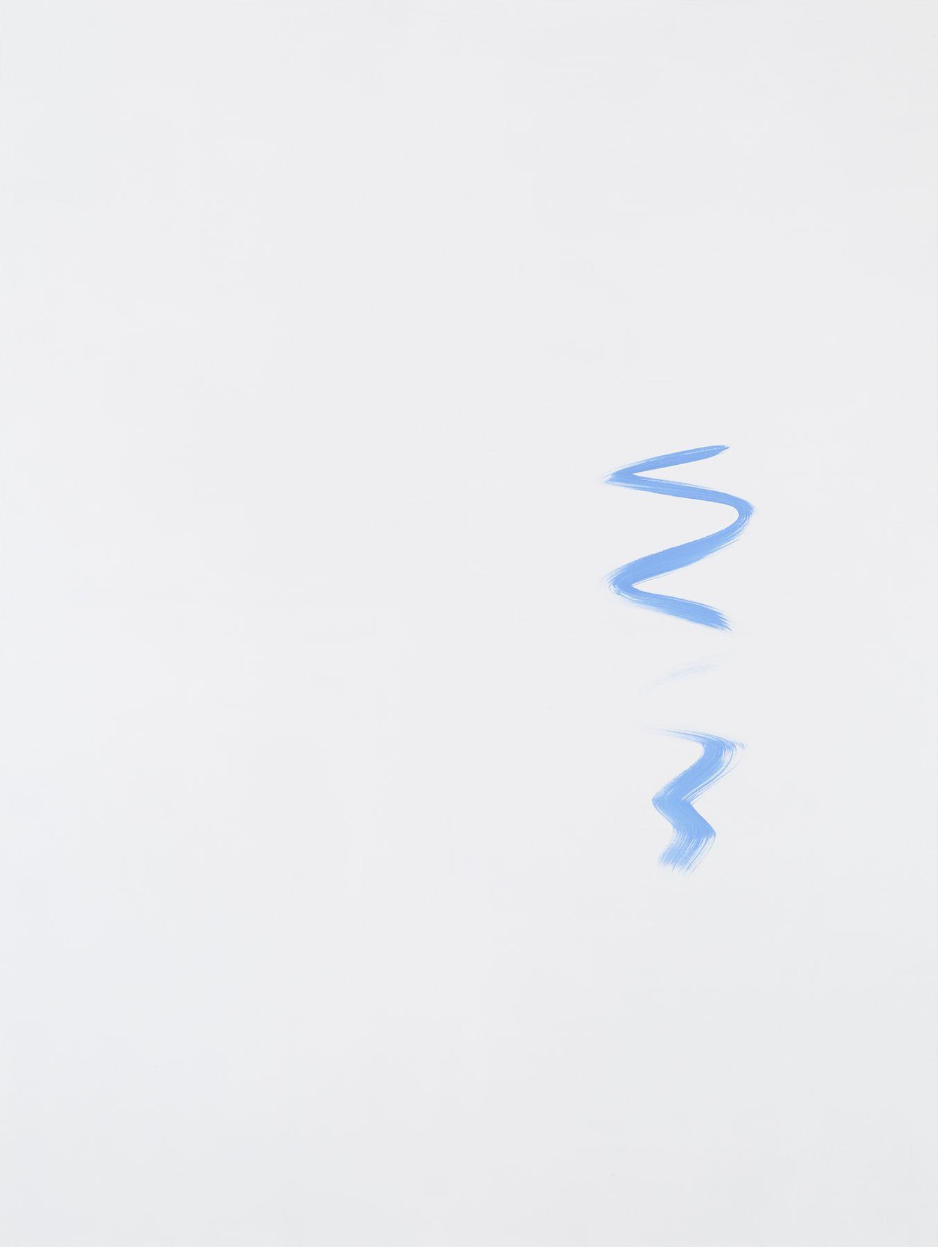 Michael Krebber MK.299, 2015 Acrylic on canvas 78 3/4 x 59 1/8 inches (200 x 150.2 cm)