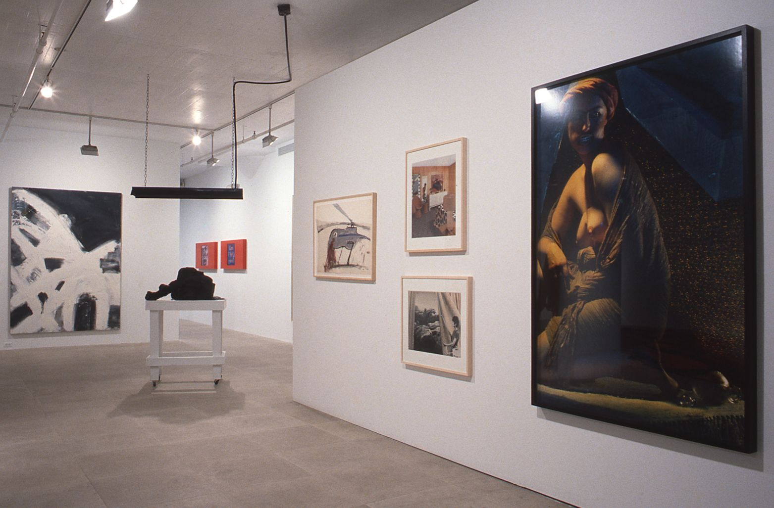 Installation view, Women's Work, Greene Naftali, New York, 1996
