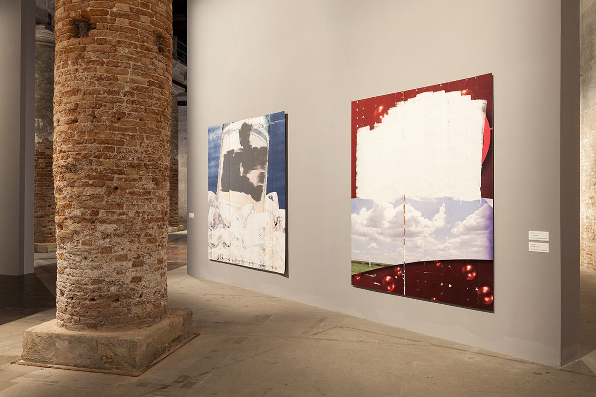 Installation view, All the World's Futures, curated by Okwui Enwezor, 56th Venice Biennale, Venice 2015