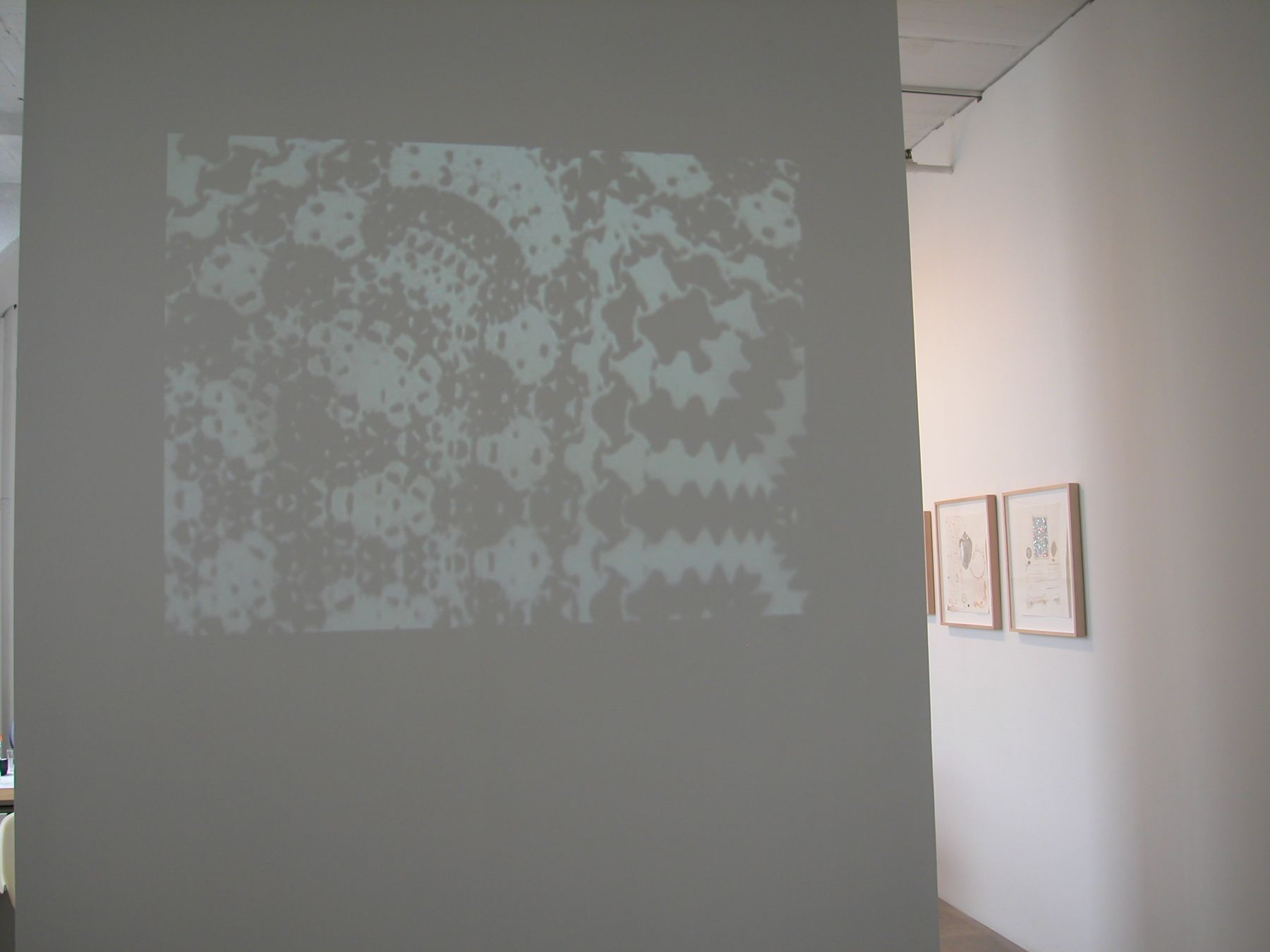 Installation view, The Jeweleigha Set, Greene Naftali, New York, 2005