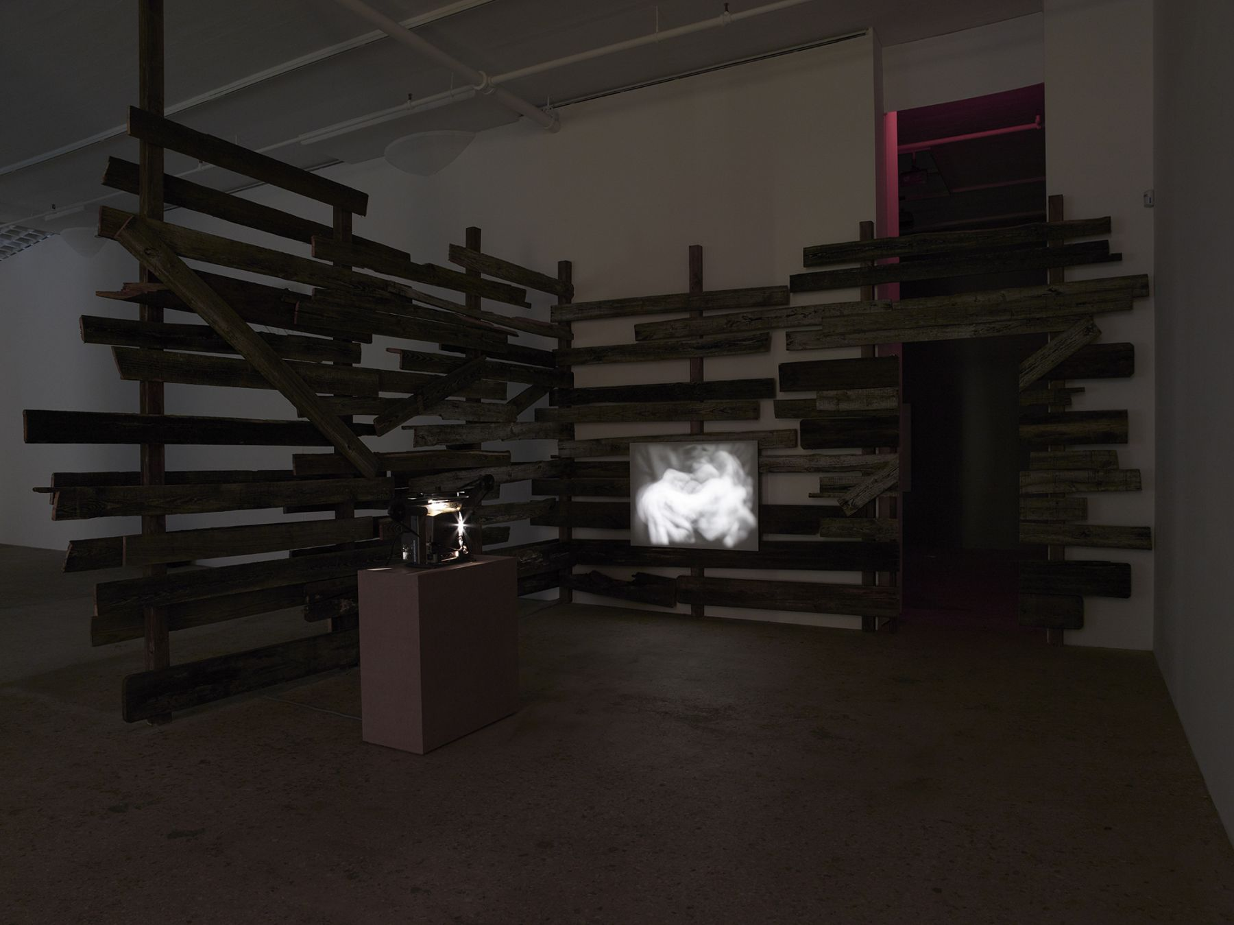 Installation view, Body Electric, Greene Naftali, New York, 2015