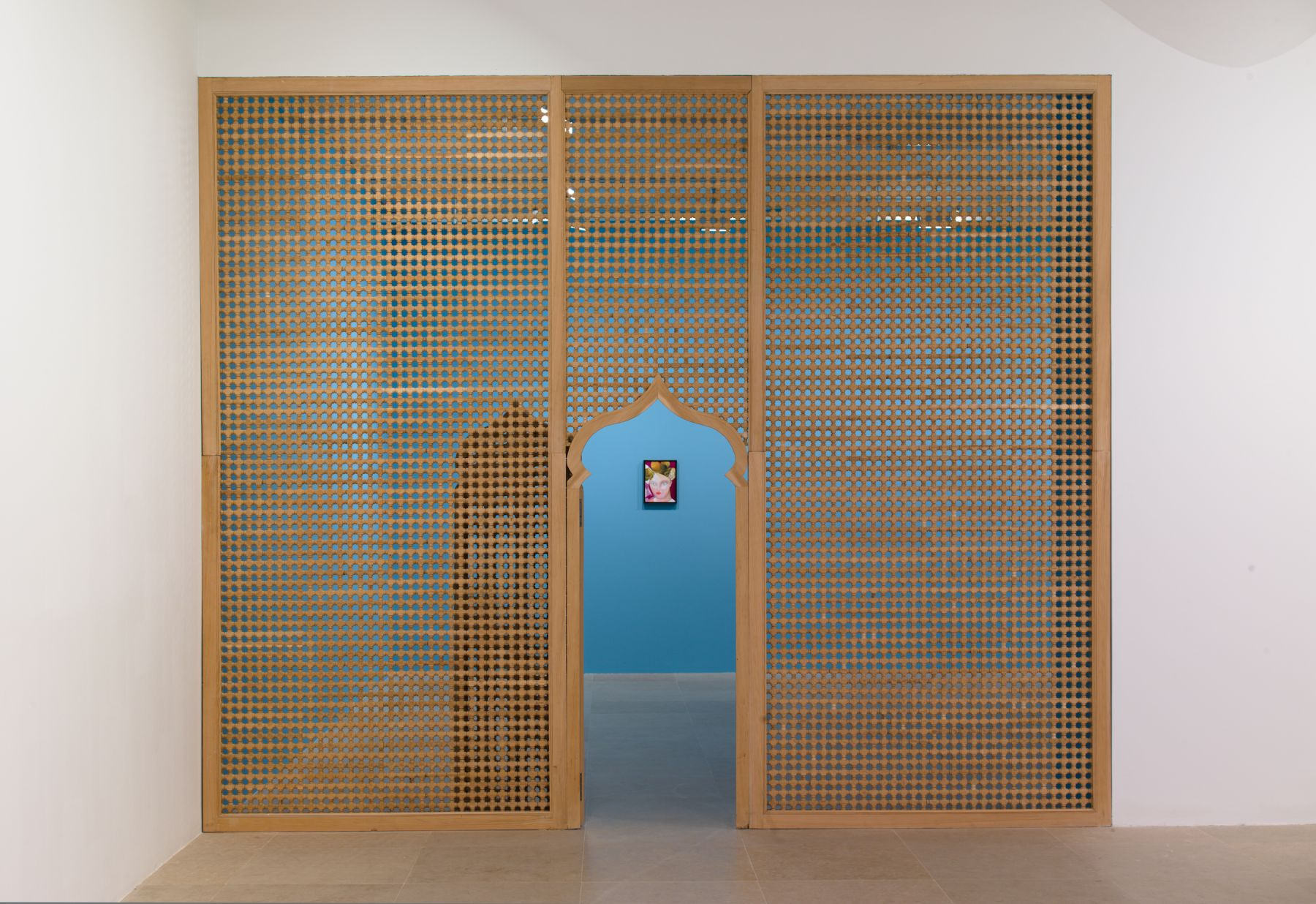 Katharina Wulff, Installation view, Wanwizzi, Greene Naftali, New York, 2010