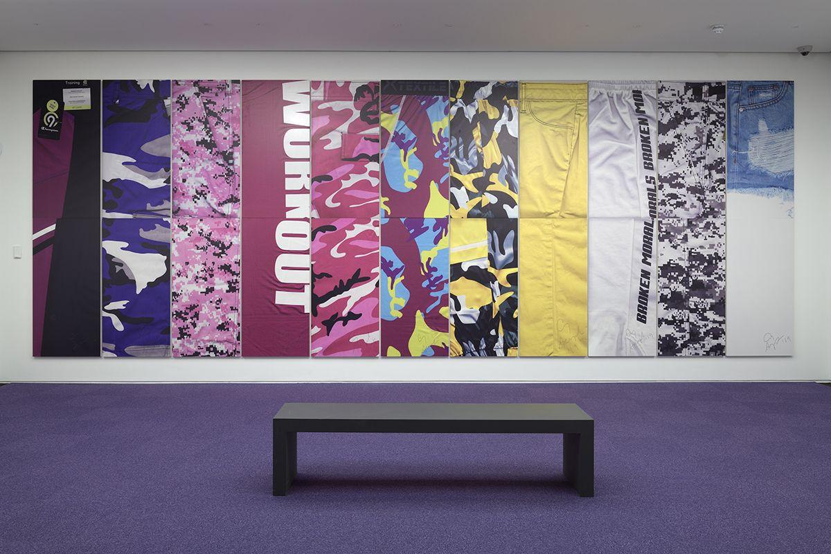 Cory Arcangel, Installation view, Firstsite, Essex, 2019
