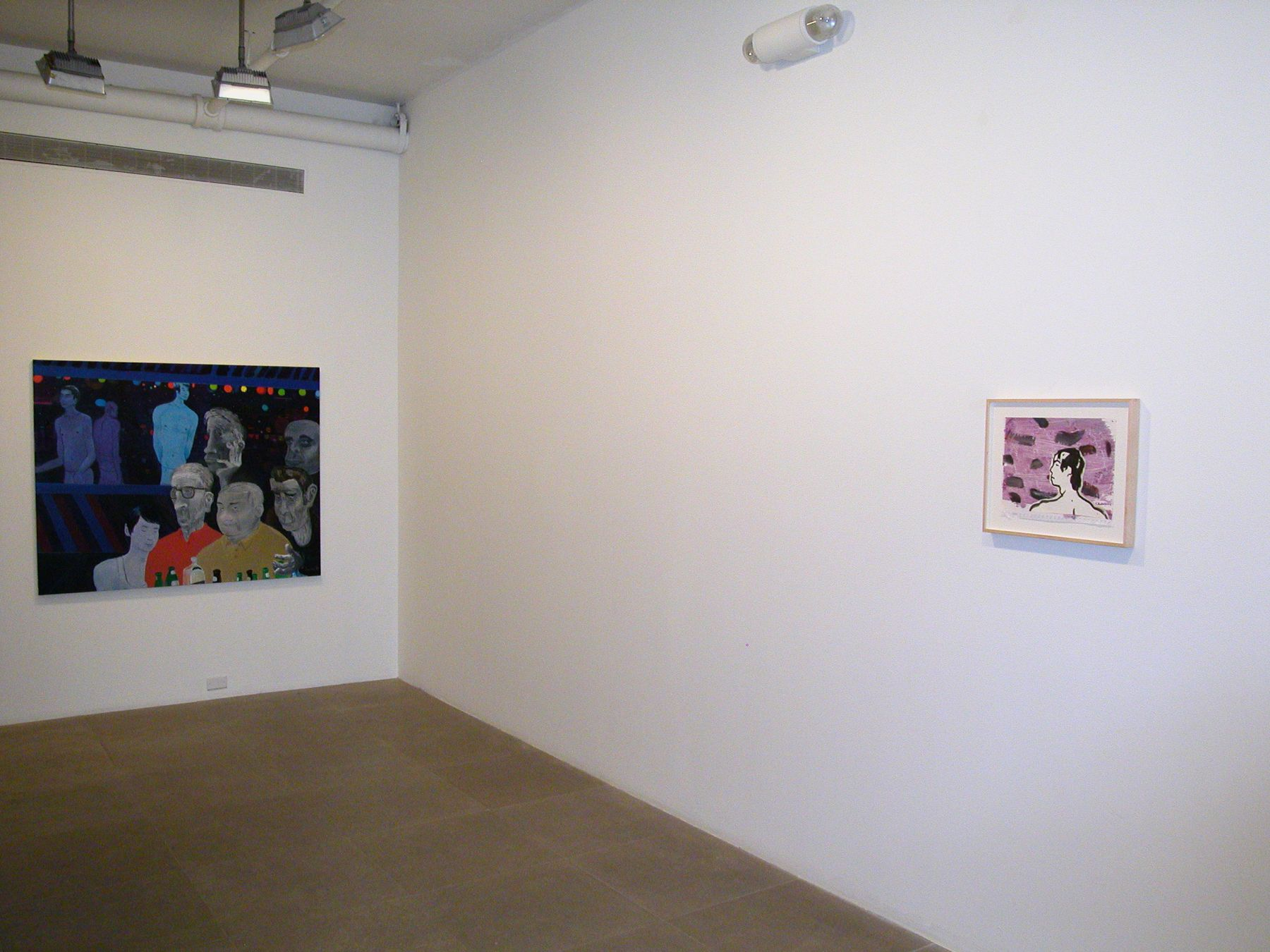 Installation view, Greene Naftali, New York, 2006