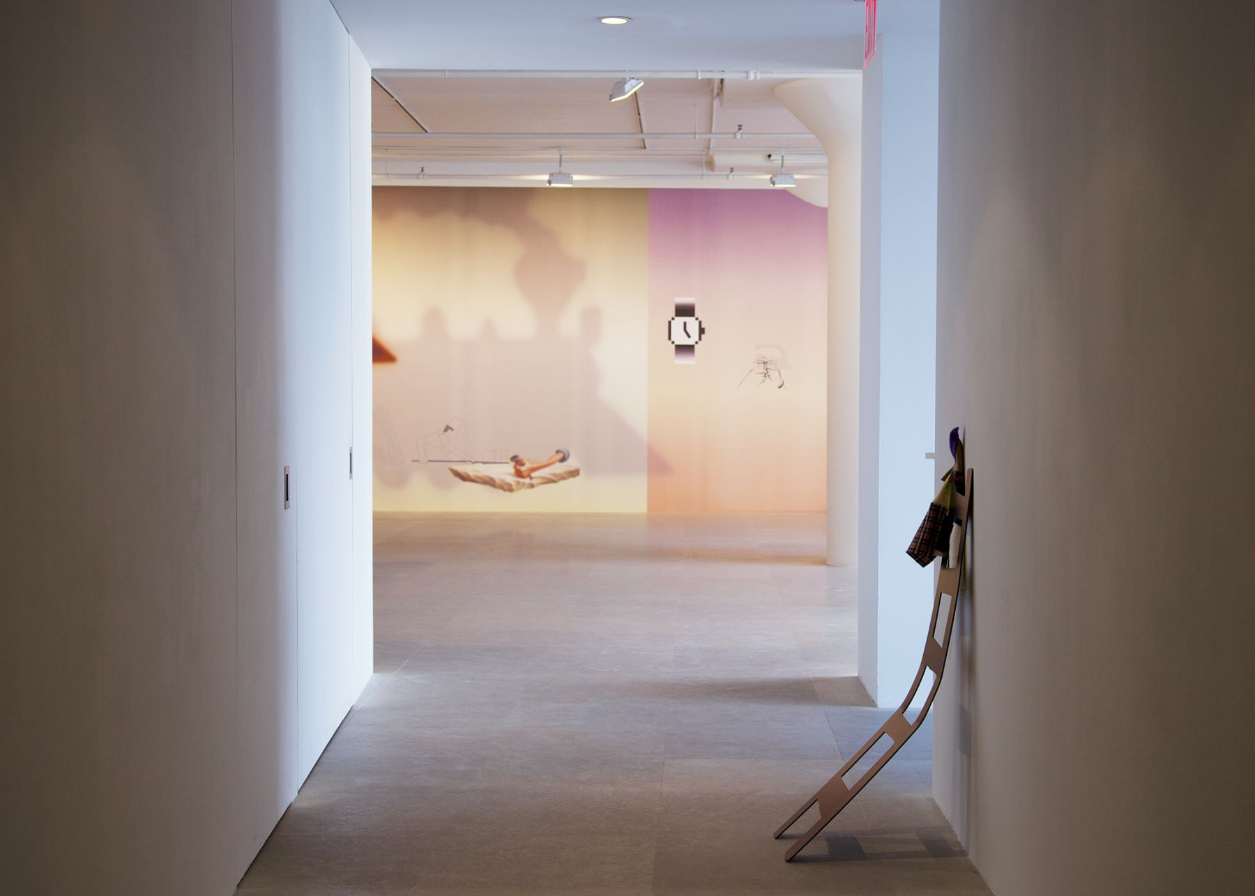 Installation view, Hasta Mañana, Greene Naftali, New York, 2011