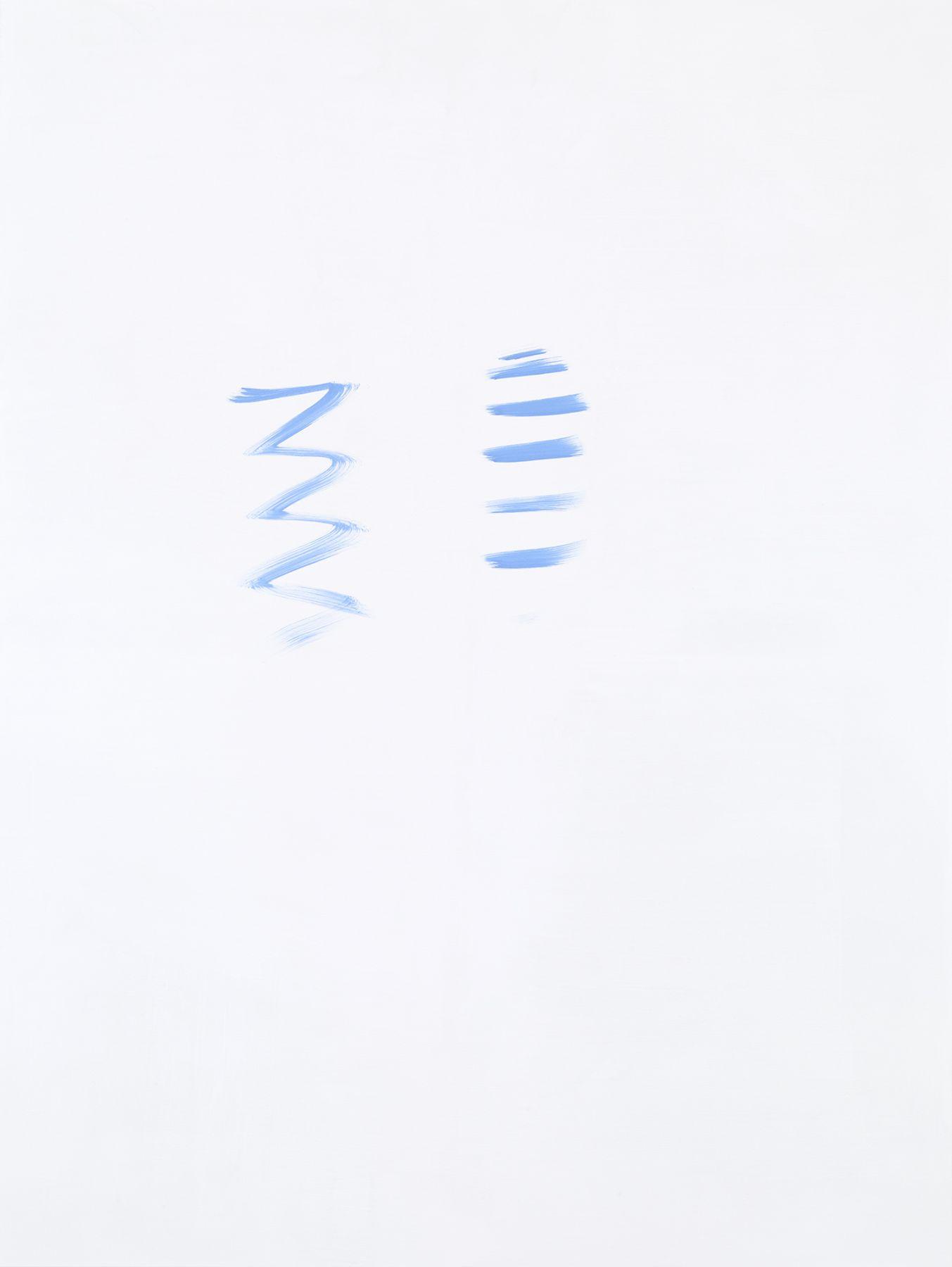Michael Krebber MK.294, 2015 Acrylic on canvas 78 3/4 x 59 1/8 inches (200 x 150.2 cm)
