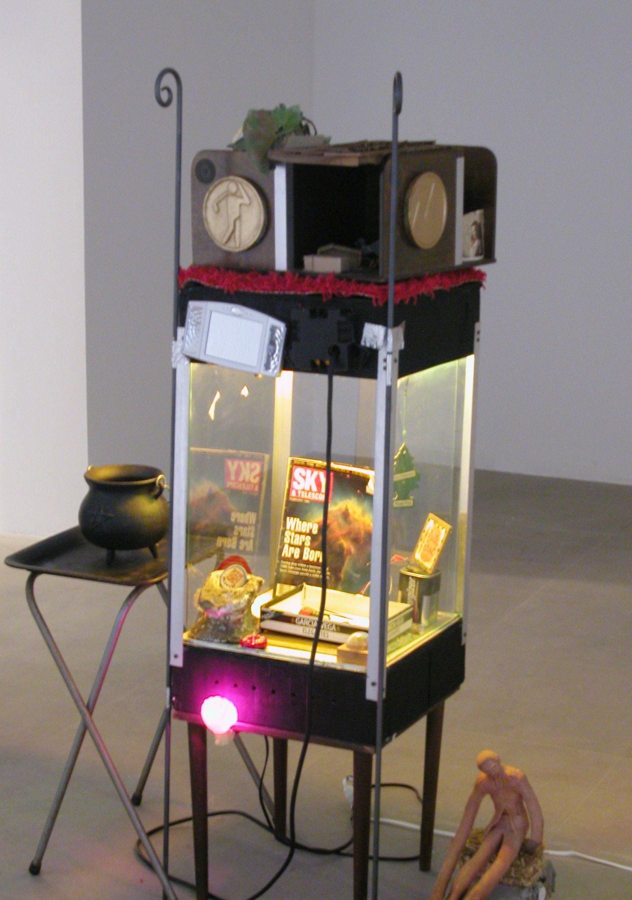 Julie Becker,  Untitled, 2004,  Mixed media installation,  Dimensions variable