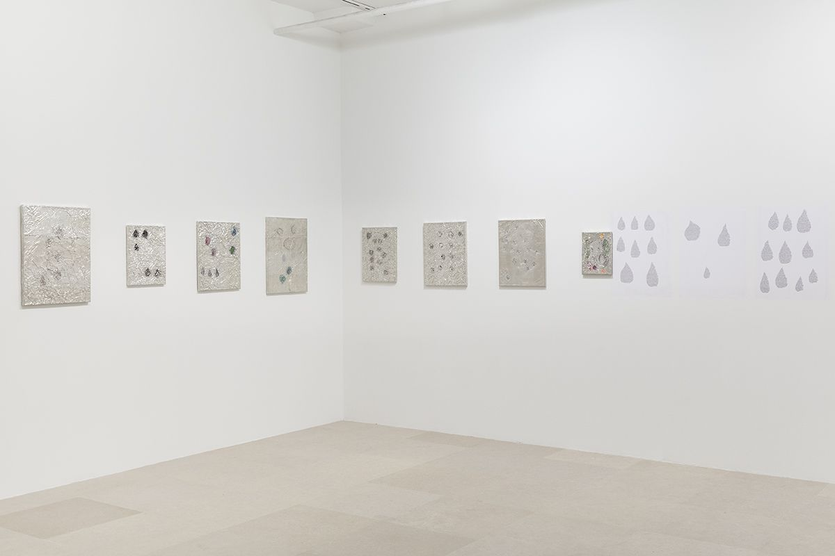 Josef Strau, Installation view, Tears and New Tears, Greene Naftali, New York, 2018