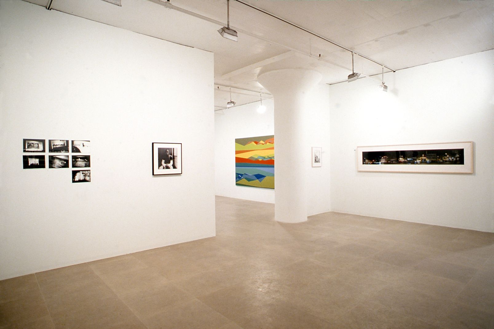 Installation view, Pictures, Greene Naftali, New York, 2002