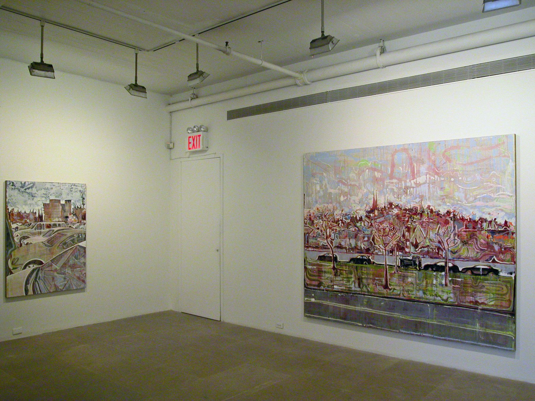 Installation view, David Korty, Greene Naftali, New York, 2005