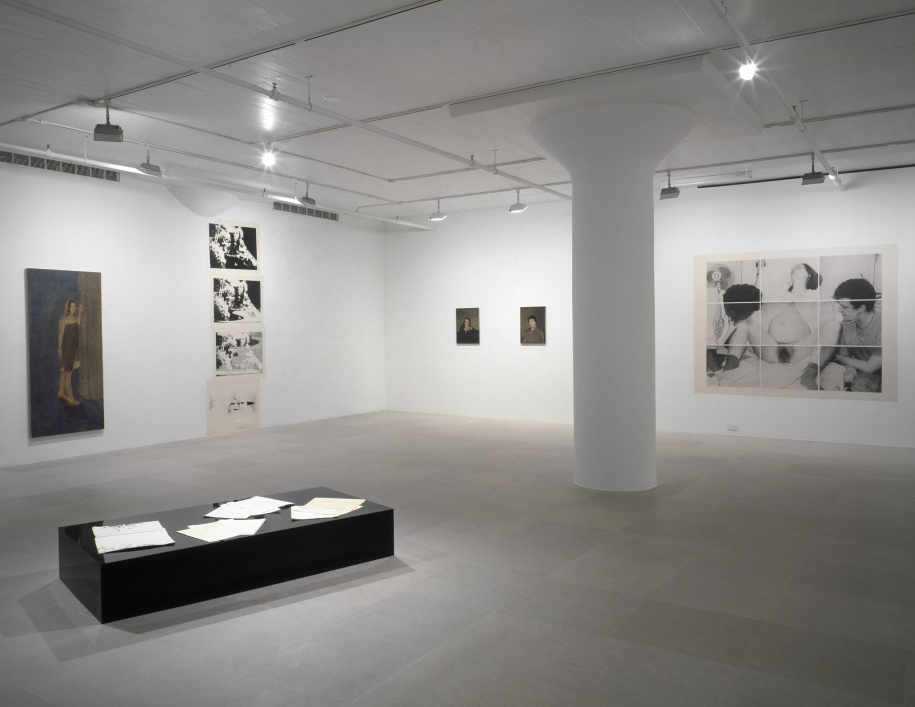 Installation view, Get Over Yourself, Greene Naftali, New York, 2006